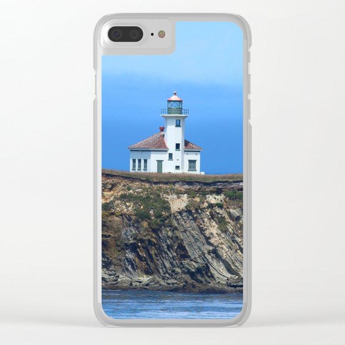 Cape Arago Light Clear iPhone Case