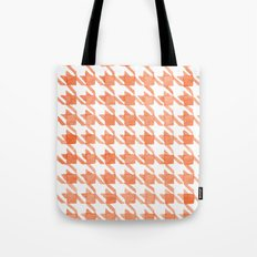 Watercolor Houndstooth Tote Bag