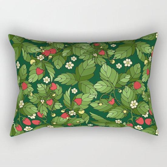 Strawberry pattern Rectangular Pillow