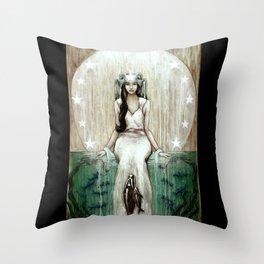 Swim Beyond Throw Pillow
