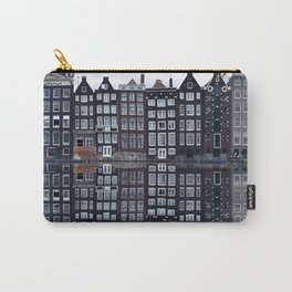 Amsterdam houses 1. Carry-All Pouch