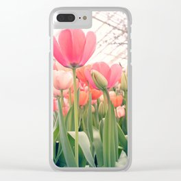 Always look (Tul)Up! Clear iPhone Case