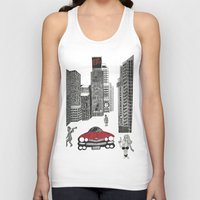 sin city Tank Tops featuring sin city by Carmit Levy