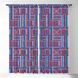 Ceylon sofa Blackout Curtain