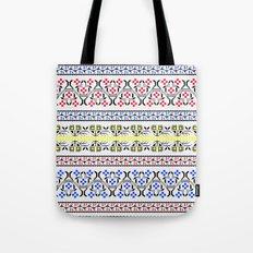 Folk Embroidery Tote Bag