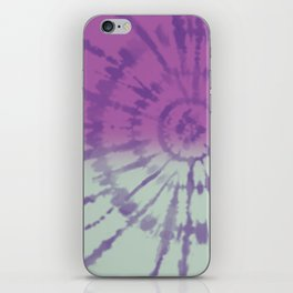 Tie Dye pattern iPhone Skin