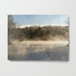 Ghostly Lake Metal Print