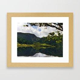 Gougane Barra Lough Framed Art Print