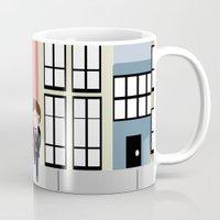 tfios Mugs featuring Amsterdam (TFIOS) by Natasha Ramon