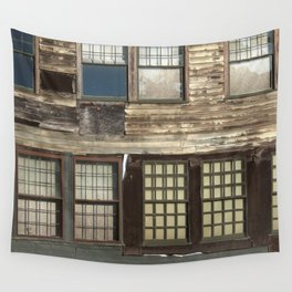 Weathered Windows Wall Tapestry