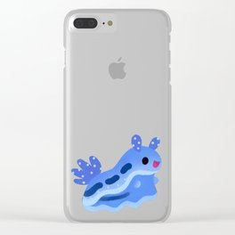 Merry christmas tree worm Clear iPhone Case