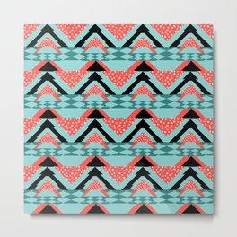 Ethnic pattern,aztec style seamless Metal Print