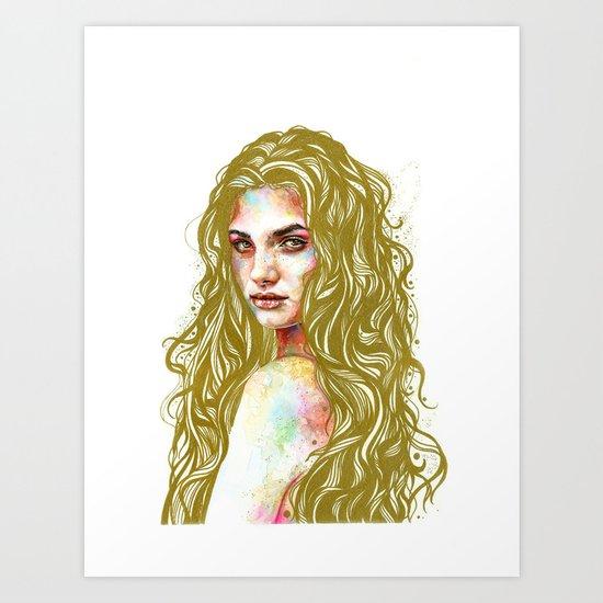 Aurum Art Print