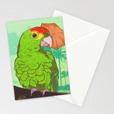 Parrot illustration Stationery Cards