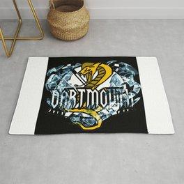 Dartmouth Cobras Ice Logo Rug