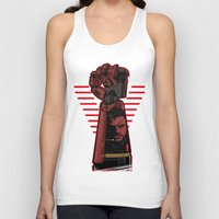 metal gear Tank Tops featuring Metal Power Gear by Akyanyme