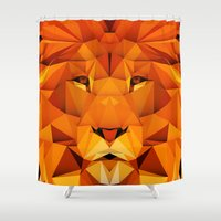 courage Shower Curtains featuring Courage by jenkydesign