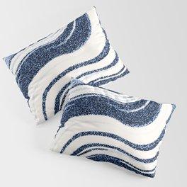 Textured Marble - Indigo Blue Pillow Sham