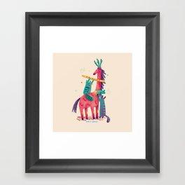 Forest Queen Framed Art Print