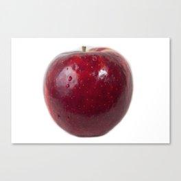 Sweating Apple Canvas Print