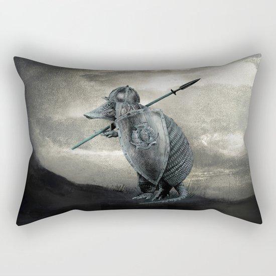 Armadillo by Eric Fan & Viviana Gonzalez Rectangular Pillow