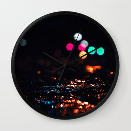 of ice and light Wall Clock
