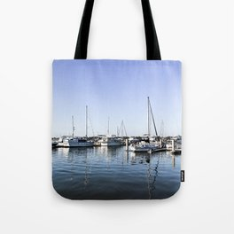 Boats of Beaufort Tote Bag
