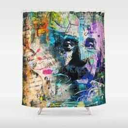 Artistic OI  - Albert Einstein II Shower Curtain