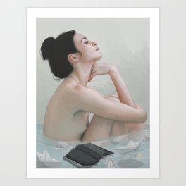 Bath Art Print