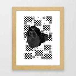 Birds Win. Framed Art Print