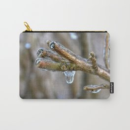 Frozen Tree Branch Carry-All Pouch