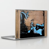 smoke Laptop & iPad Skins featuring SMOKE by ARTito