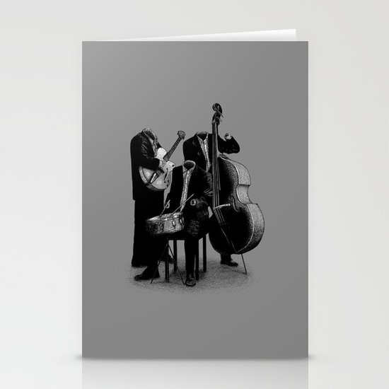 The Invisibles (On Grey) Stationery Cards