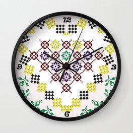 Romanian Heart Wall Clock