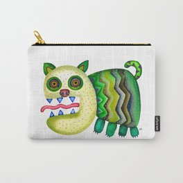 Screaming Kitty Carry-All Pouch
