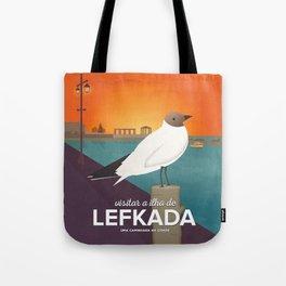 Lefkada, Seabird at Sundown (GR) Tote Bag