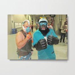 Bane and Gorilla Dolfans Metal Print
