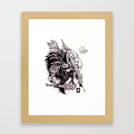 Fragile Shell Framed Art Print