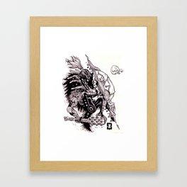 Fragile Shell Framed Art Print