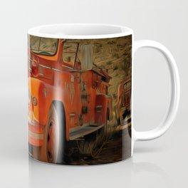 Retro Red Coffee Mug