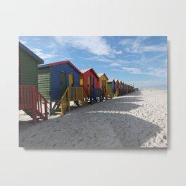 Muizenberg Beach Metal Print