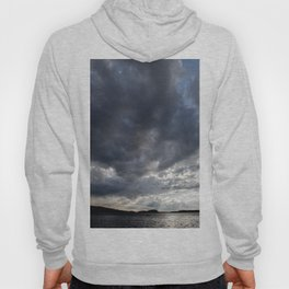 Dark Clouds Coming Over Lake In Scandinavia Hoody
