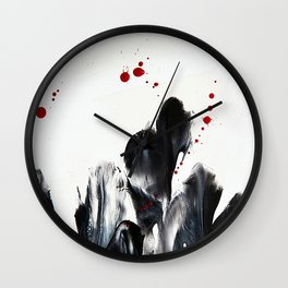 Blood and Tears Wall Clock