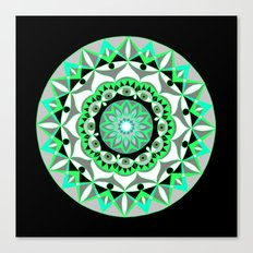 My Mandhala | Secret Geometry | Energy Symbols Canvas Print
