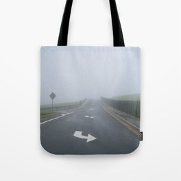 Fogged In/Wrong Way Tote Bag