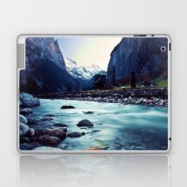 Penetrating the Mountainous hideouts Laptop & iPad Skin