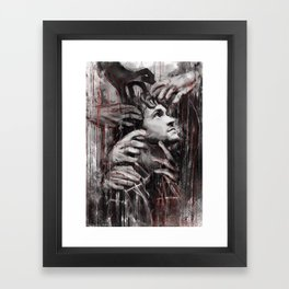 The Empath Framed Art Print