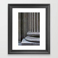 'Pillar' Framed Art Print