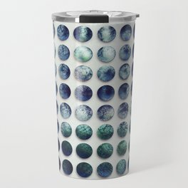 Blue dots Travel Mug