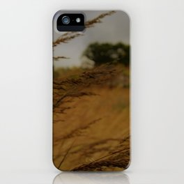 Amber Waves iPhone Case